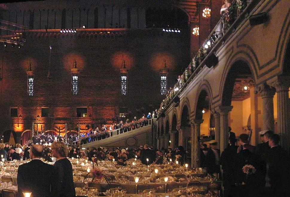 Panoramic Shot Nobel Banquet 2005 cropped
