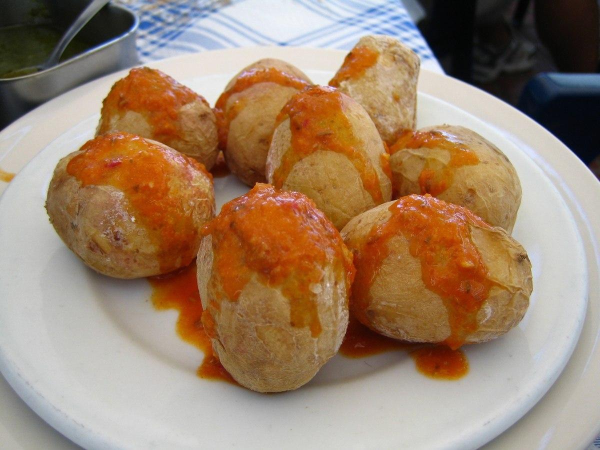 canarische aardappelen maken