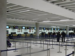 Paphos International Airport Check-in Hall.jpg
