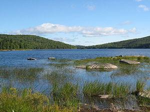 Frontenac National Park - Image: Parc national de Frontenac (baie Sauvage)