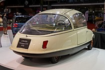 Paris - Retromobile 2014 - Citroën prototype C10 - 1956 - 002.jpg