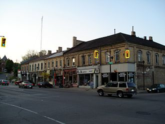 Paris, Ontario - Corner of William and Grand River