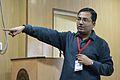 Partha Sarathi Banerjee - Workshop - Collaboration in Wikipedia - Bengali Wikipedia 10th Anniversary Celebration - Jadavpur University - Kolkata 2015-01-09 2874.JPG