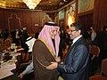 Participation du Dr.Rafik Abdessalem, à la réunion du conseil de la Ligue arabe- Une conférence internationale sur la Syrie le 24 février à Tunis. (6868835669).jpg