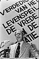 Partijvoorzitter Hoekstra tijdens de openingsrede, Bestanddeelnr 927-9745.jpg