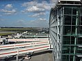 Passenger boarding bridges at the northern end of Terminal 5 - geograph.org.uk - 967268.jpg