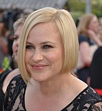 Photo of Patricia Arquette at the 2015 Monte-Carlo Television Festival.