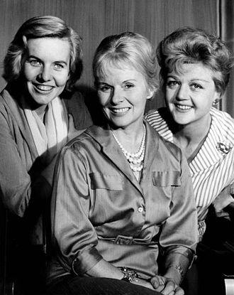 Patricia Cutts - Cutts (at left) with Ann Todd and Angela Lansbury from a 1959 Playhouse 90 production.