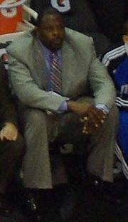 Patrick Ewing as Orlando Magic assistant coach on April 1, 2009.jpg