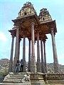 Pattabhirama Temple 12 Pillared Mandapam closeup side view.jpg