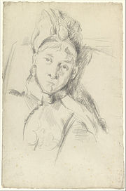 Paul Cézanne - Portrait of Hortense Cézanne-Figuet, the Artist's Wife - Google Art Project.jpg
