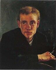 Porträt des Malers Paul Eugène Gorge
