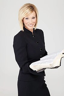 Paula White American television evangelist