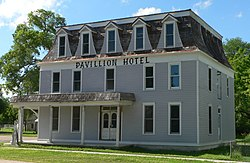 Pavillion Hotel (Taylor, Nebraska) from SE.JPG