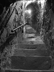 Peña El Chilindrón, Aranda de Duero, España, pic. 1 Underground Wine Cave, Bodega de Vino Photography by David Adam Kess.jpg