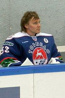 Pekka Tuokkola Finnish ice hockey goaltender