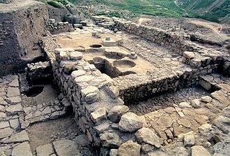 Pella, Jordan - Bronze Age temple found in Pella