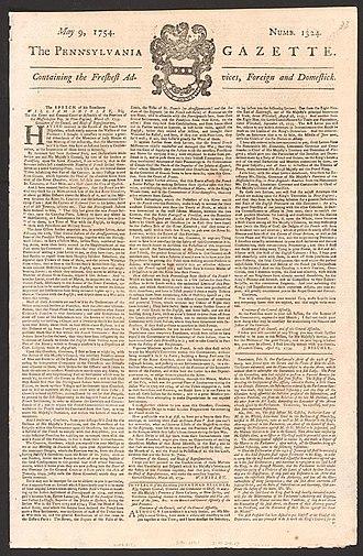 Pennsylvania Gazette - The Pennsylvania Gazette for May 9, 1754