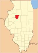 Peoria County Illinois 1831