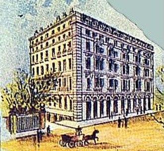 Pera Palace Hotel - Pera Palace Hotel in 1900