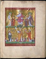 180px-Perikopenbuch_Heinrich_und_Kunigun