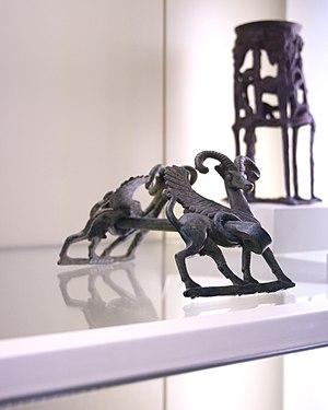Bit (horse) - A Luristan bronze horse bit
