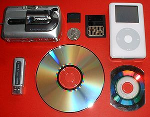 Data storage - Various electronic storage devices