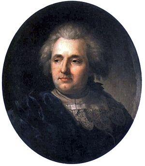 Franciszek Smuglewicz - Franciszek Smuglewicz by Józef Peszka, his student.