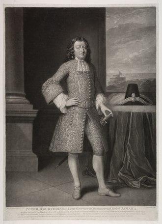 Peter Beckford - A posthumous portrait of Peter Beckford.