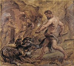 Peter Paul Rubens: Hercules and Cerberus
