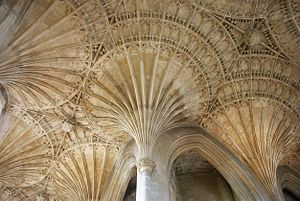 John Wastell - Image: Peterborough Cathedral fan vaulting