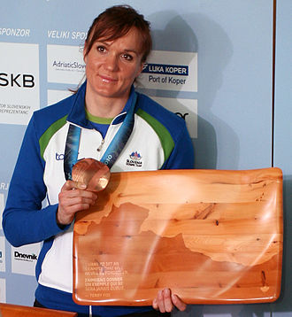 Slovenian Sportsperson of the Year - Petra Majdič