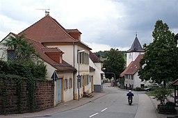 Hauptstraße in Keltern