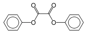 Diphenyl oxalate - Image: Phenyl oxalate ester