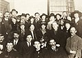 Photograph taken in Liberty Hall the night Countess Markievicz was released from prison May (?) 1919, (39185125782).jpg