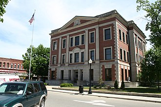 Monticello, Illinois - Piatt County Courthouse
