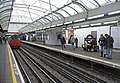 Piccadilly Line platform, Hammersmith, London - geograph.org.uk - 1169450.jpg