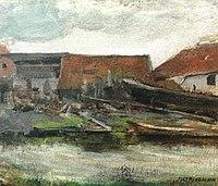 Piet Mondriaan - Scheepstimmerwerf (authentiek) - A177 - Piet Mondrian, catalogue raisonné.jpg