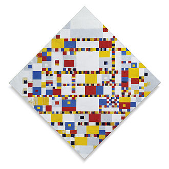 Miller Company Collection of Abstract Art - Image: Piet Mondriaan Victory Boogie Woogie