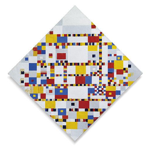 Piet Mondriaan Victory Boogie Woogie