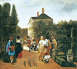 Game of Skittles in a Garden