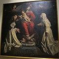 Pietro paolini, madonna del rosario e santi con veduta di lucca, 1620-1630 ca., da pal pubblico, lu.JPG