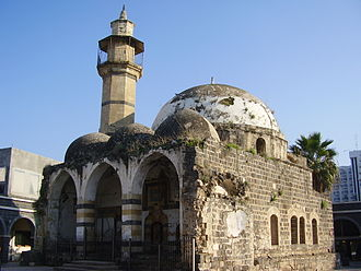 Zahir al-Umar - The Omari Mosque in Tiberias, built by Zahir