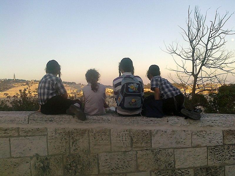 מבט אל הר הזיתים