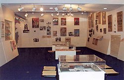PikiWiki Israel 779 Hashomer Hatzair historical Exhibition in Yad Yaar תצוגת השומר הצעיר בארכיון יד יערי.jpg
