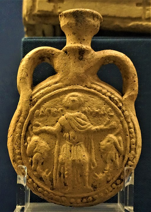 Pilgrim's Bottle of Saint Menas - Benaki Museum, Athens