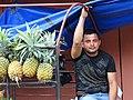 Pineapple Vendor - Rio Dulce - Izabal - Guatemala (15884959381).jpg