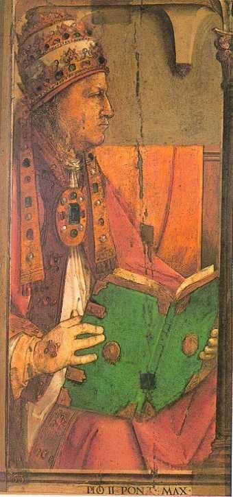Pius II (Joos van Wassenhove)
