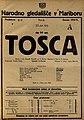 Plakat za predstavo Tosca v Narodnem gledališču v Mariboru 23. junija 1925.jpg