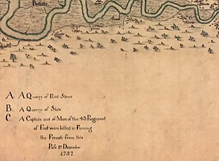 Battle of Bloody Creek (1757) battle of the French and Indian War in 1757